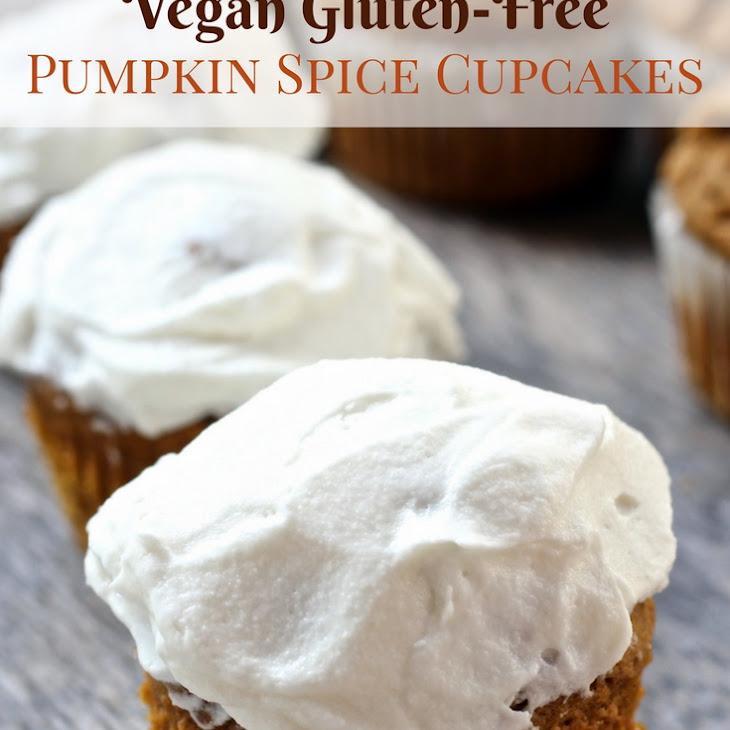 Vegan Gluten-Free Pumpkin Spice Cupcakes