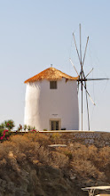 Photo: It's not a Cycladic town unless there is a really old, preferably re-purposed windmill.