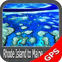 Rhode Island to Maine GPS icon