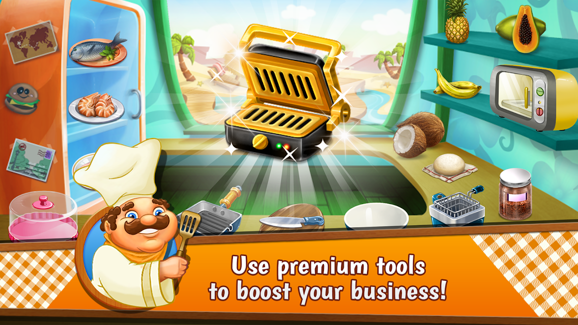 #21. Cooking Tale - Chef Recipes (Android)