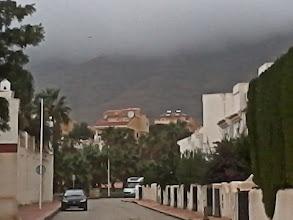 Photo: låga moln eller höga berg