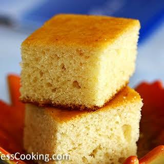 Eggless Vanilla Cake.