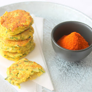 Curried Zucchini and Onion Burgers