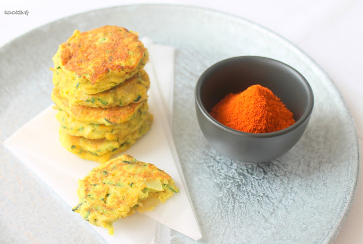 Curried Zucchini and Onion Burgers Recipe