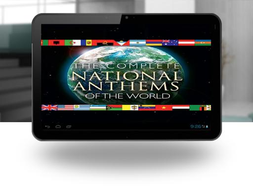 hymnes nationaux audio lyrics