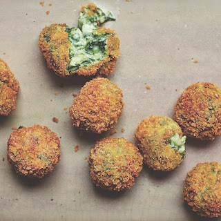 Spinach And Goat Cheese Croquetas