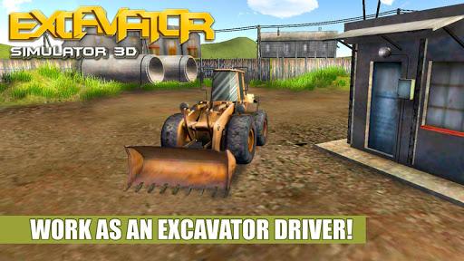 Excavator Driver Simulator 3D