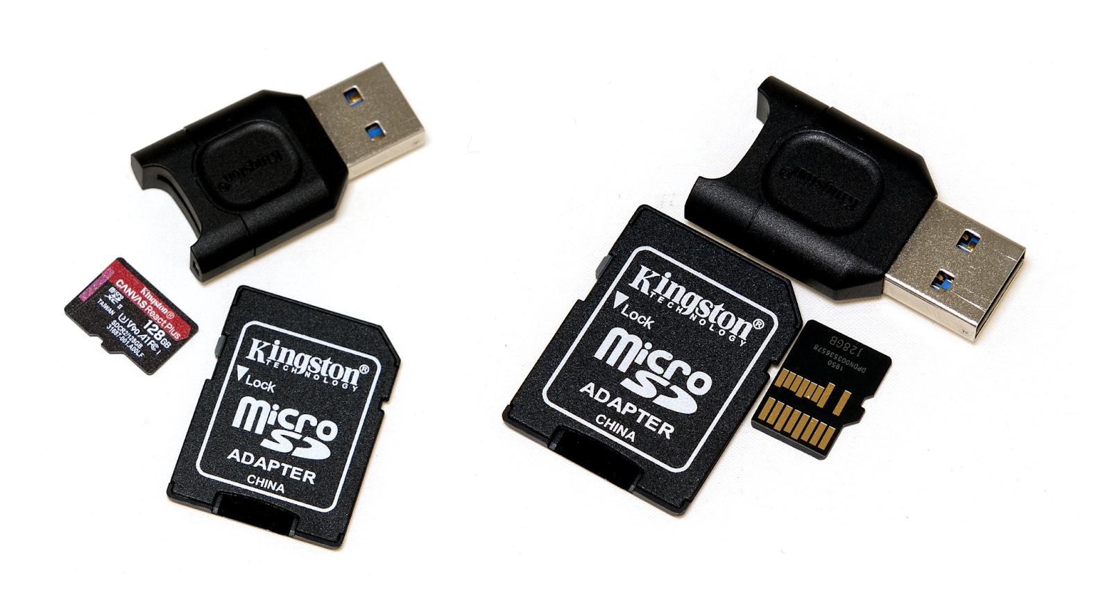 Kingston микро-SD