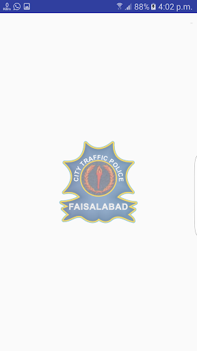 City Traffic Police Faisalabad screenshot 1