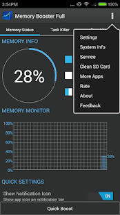 Memory Booster - RAM Optimizer- screenshot thumbnail