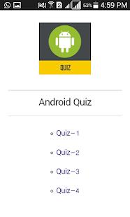 Twigital Android Quiz - náhled