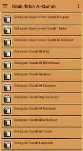 Kitab Tafsir Al-Quran - náhled