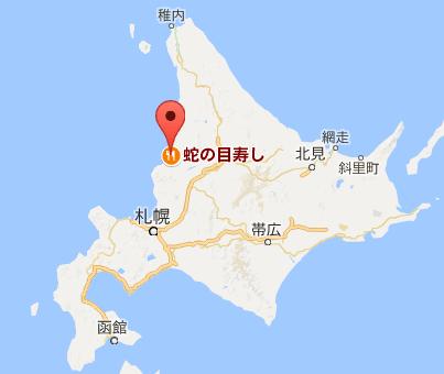 地図:蛇の目寿司