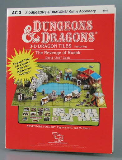 Game:AC3 Dungeons & Dragons 3-D Dragon Tiles Featuring the Revenge of Rusak: A Sungeons & dragons Game Ac