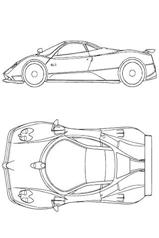 How To Draw Racing Car