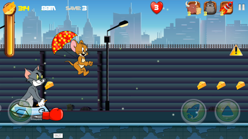 Adventure Tom and Jerry Run: Escape from Alien 1.0 screenshots 3