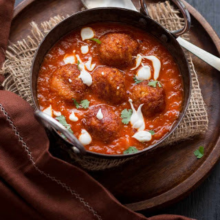 Cauliflower Paneer Kofta Curry