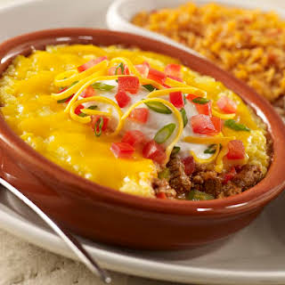 Crockpot Beef Tamale Pie.