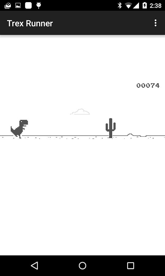 Trex Runner- screenshot