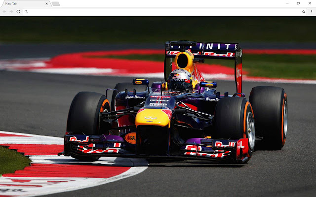 Formula 1 Sports Cars Themes - New Tab