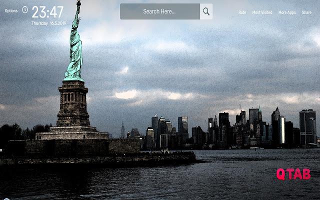 New York Wallpapers HD Theme