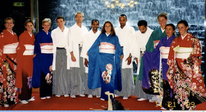 Photo: International Ekiden, Chiba, Japan 1999 USA Men and Women's Teams