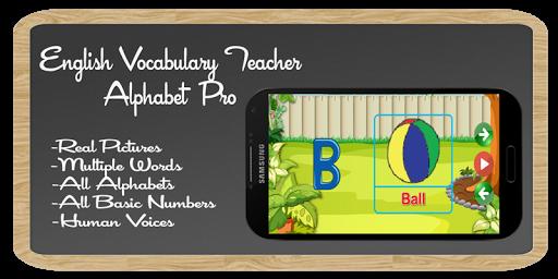 玩免費教育APP|下載Alphabet Pro:VocabularyTeacher app不用錢|硬是要APP