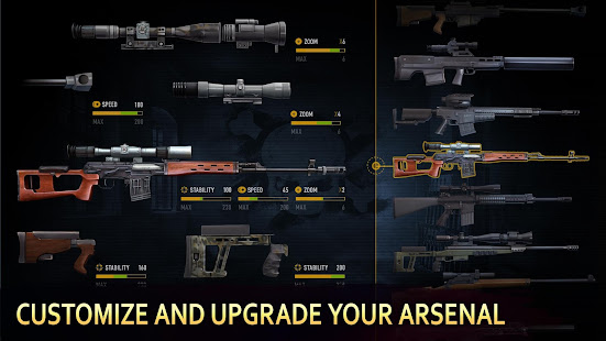 Sniper Arena: PvP Army Shooter Mod