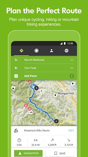 Komoot — Cycling, Hiking & Mountain Biking Maps screenshot 1