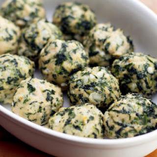 Chicken & Spinach Meatballs.