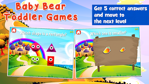 Baby Bear Games for Toddlers  screenshots 3