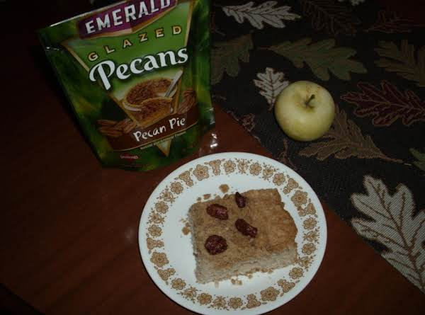 Pecan Topped Apple Cake Recipe