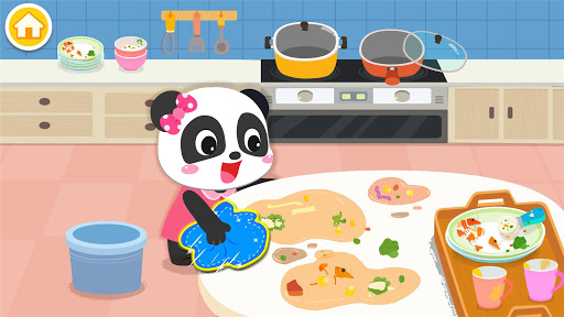 Baby Panda's Life: Cleanup screenshot 8