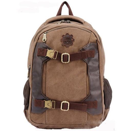 Bespoke Branded Canvas Backpack