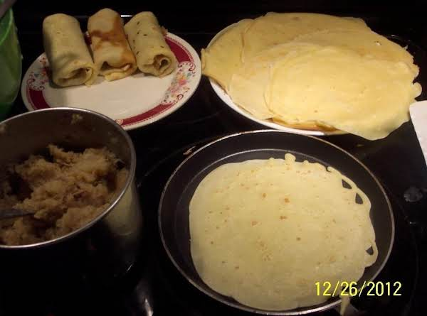 Fried Cabbage Crepes Croquetta Polish Recipe