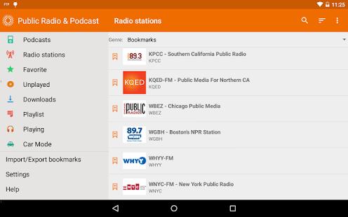 Public Radio & Podcast- screenshot thumbnail