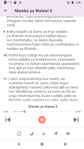 2020 Biblia Takatifu Na Sauti Swahili Audio Bible Android App Download Latest