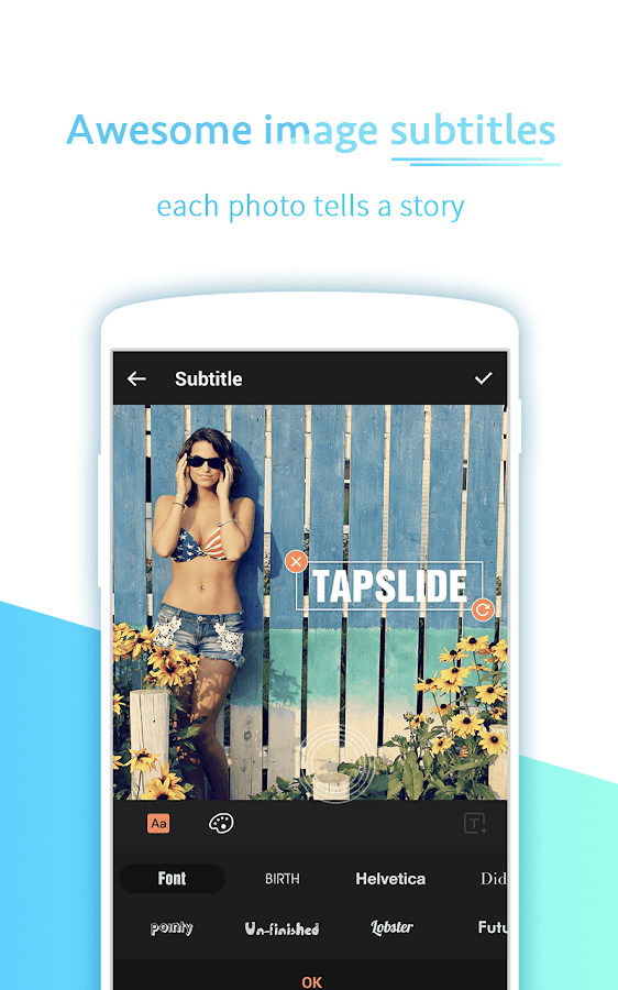 Music Video Maker - TapSlide- screenshot