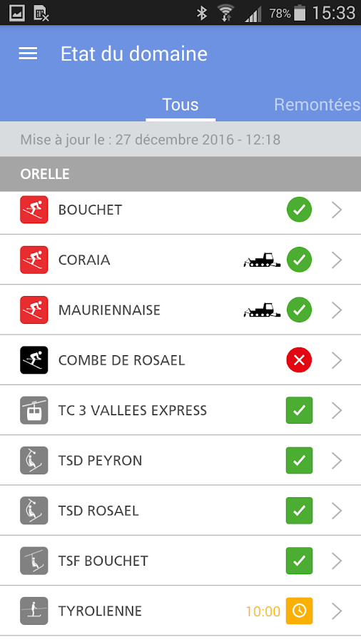 Orelle- screenshot