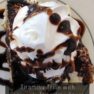 Tiramisu Truffle Espresso with Chocolate Sauce