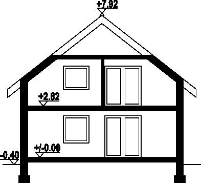 Wąsowo mg2 - Przekrój