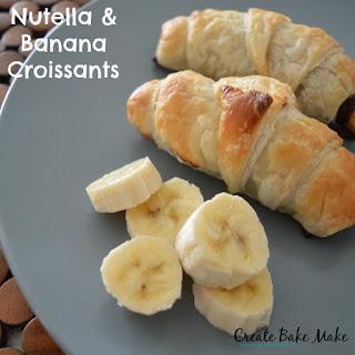 Nutella and Banana Croissants Recipe