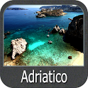 Adriatic Sea GPS Nautical Charts icon