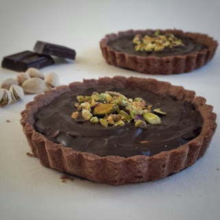 Chocolate Pistachio Tart Recipe