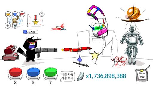 Grow Hidden Weapons : Stickman Clicker