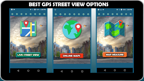 GPS Street View & 360 Map Navigation Tools