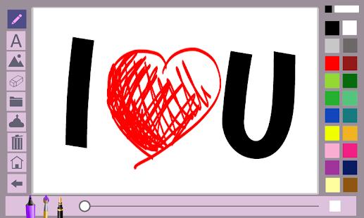 Write notes on the screen- screenshot thumbnail