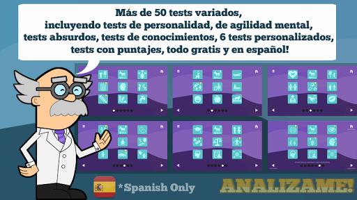 Analizame!  (Tests Divertidos)  captures d'écran 1