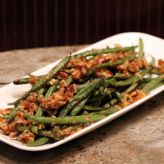 Roasted Pecan Green Beans.
