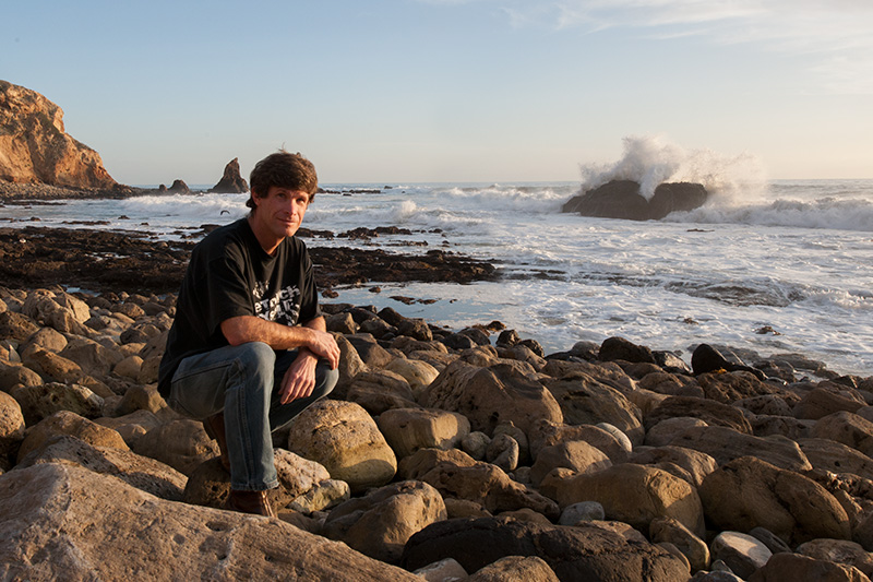 Photo: Me down by the tide pools.  I've spent a lot of time here diving, taking photos, camping out.  Marineland of the Pacific used to by up on the bluff to the left.